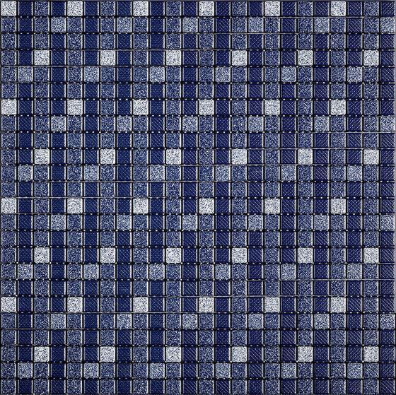 Decori  Denim Sfilato 002 Pattern de Appiani | Mosaïques céramique