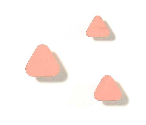 Leonie | Coat hook, apricot pink by Hartô | Single hooks