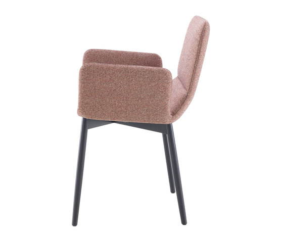 Bendchair | Carver Chair Base Black-Stained Beech by Ligne Roset | Chairs