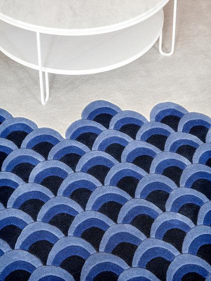 Rug Marin, blue von Hartô | Formatteppiche