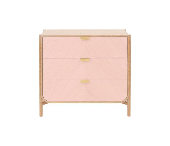Chest of drawers Marius, pink de Hartô | Aparadores