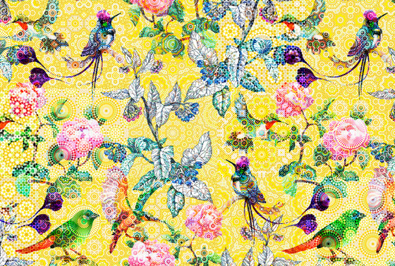 Walls By Patel| Wallpaper Exotic Mosaic 1 de Architects Paper | Revestimientos de paredes / papeles pintados