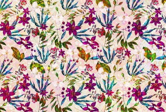 Walls By Patel| Wallpaper Mosaic Blossom 2 di Architects Paper | Carta parati / tappezzeria