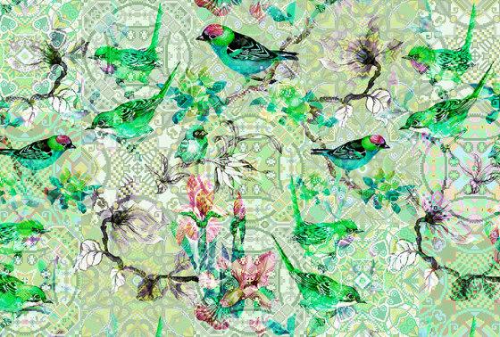 Walls By Patel| Papel Pintado Mosaic Birds 1 de Architects Paper | Revestimientos de paredes / papeles pintados