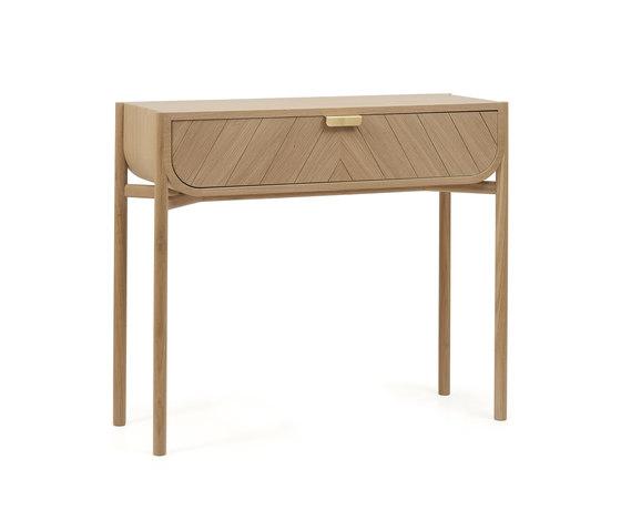 Console 100cm Marius, natural oak by Hartô | Console tables