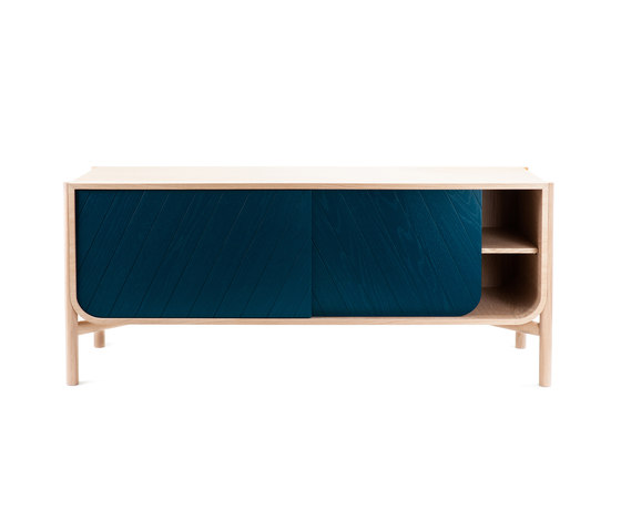 Marius | Sideboard 155cm, petrol blue von Hartô | Sideboards / Kommoden