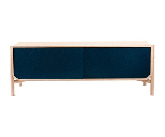 Sideboard Marius 185cm, petrol blue von Hartô | Sideboards / Kommoden