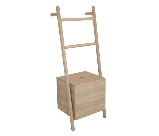LOKKS ladder-shelf by Kommod | Towel rails