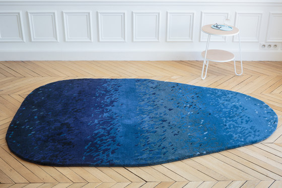 Carpet Noe, faded blue by Hartô | Rugs