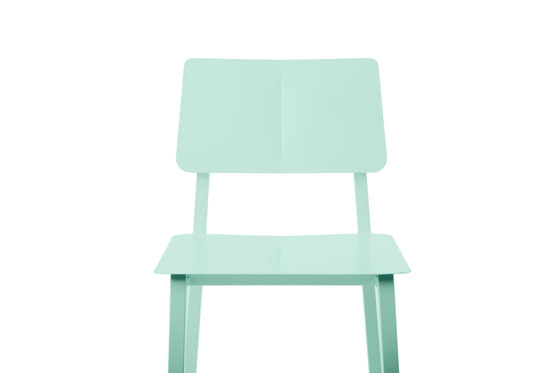 Chair Rosalie with joint, pastel green de Hartô | Sillas