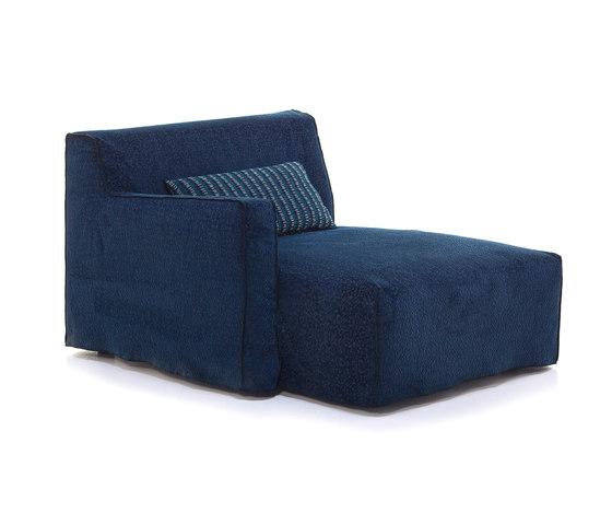 More 20 L R by Gervasoni | Modular seating elements