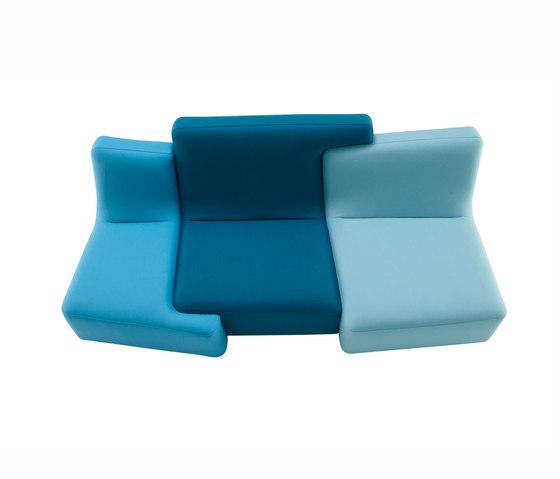 Confluences | Sofa 3 Plazas Version Multicolor de Ligne Roset | Sofás