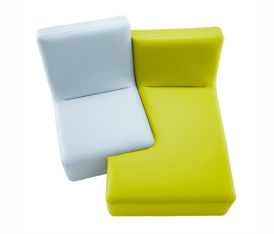 Confluences | Tu Y Yo Version Multicolor de Ligne Roset | Sofás