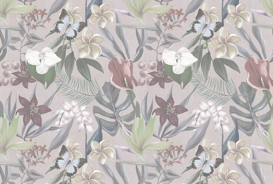 Walls By Patel| Papel Pintado Orchid Garden 1 de Architects Paper | Revestimientos de paredes / papeles pintados