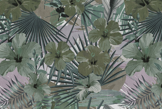 Hibiscus 1 by Architects Paper | Wall coverings / wallpapers
