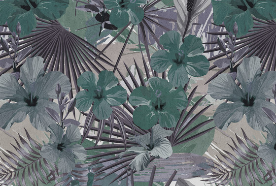 Walls By Patel| Wallpaper Hibiscus 3 by Architects Paper | Wall coverings / wallpapers