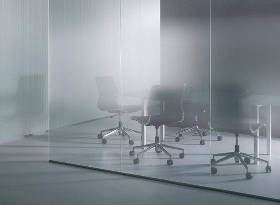 Madras® Progressiv | Pixel Gradient von Vitrealspecchi | Dekoratives Glas