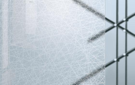 Madras® Textures | Crossing Glossy by Vitrealspecchi | Decorative glass