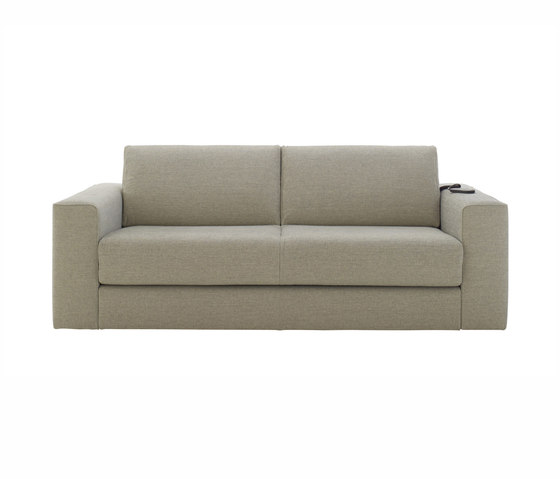 Do Not Disturb | Bed Settee With 2 Arms Bedding 160 With Electric Mechanism by Ligne Roset | Sofas