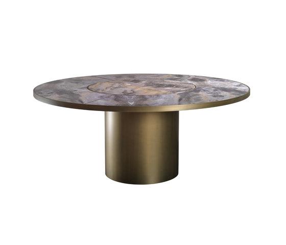 Signore degli anelli 72 Steel by Reflex | Dining tables