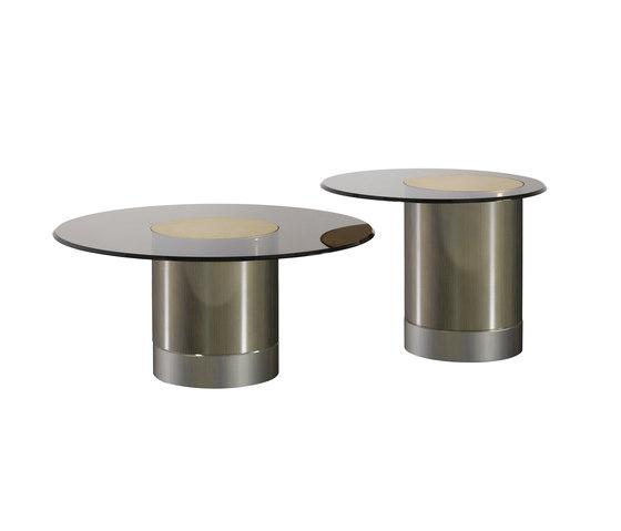 Tau 40 Steel vetro de Reflex | Mesas de centro