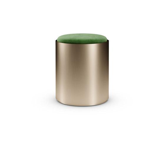 Tau 40 Steel Pouf di Reflex | Tavolini bassi