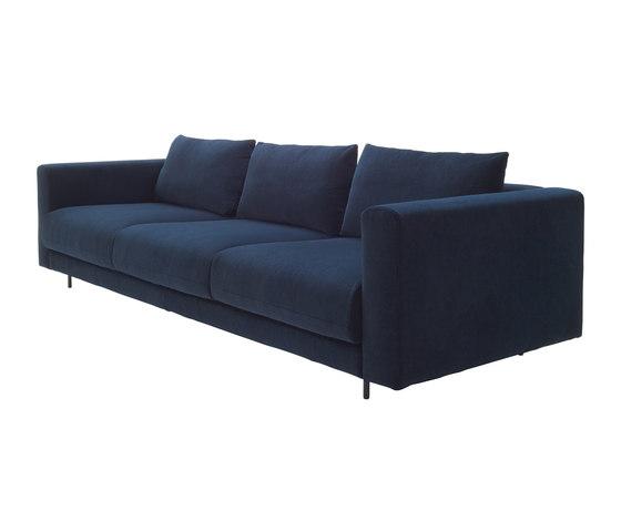 Enki | Large Settee Complete Item - High Back Cushions by Ligne Roset | Sofas