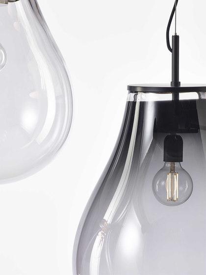 TIM pendant smoke black medium by Bomma | Suspended lights