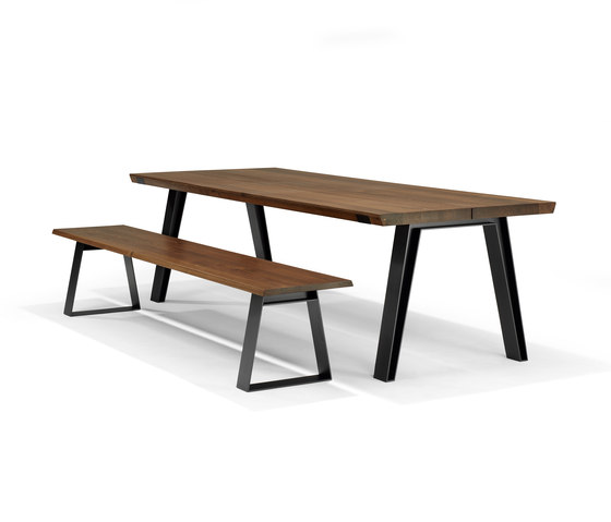 Side-To-Side Dining Table de QLiv | Mesas comedor