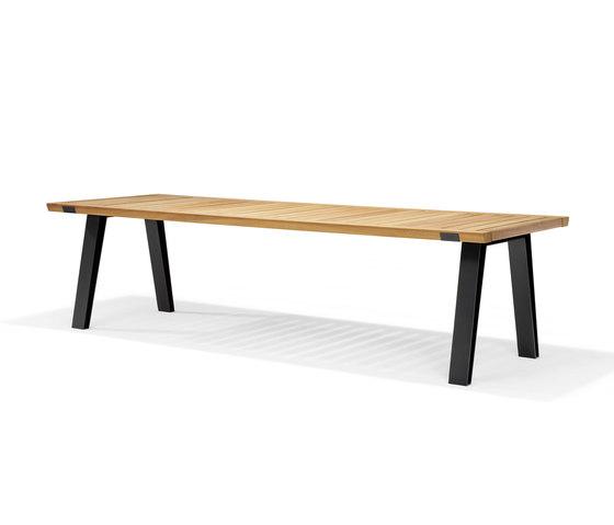 Side-To-Side Oudoor Table de QLiv | Mesas comedor