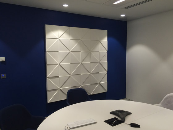 Prism by Soundtect | Sound absorbing wall systems
