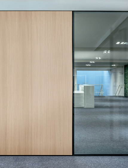 I-Wallflush by Fantoni | Wall partition systems