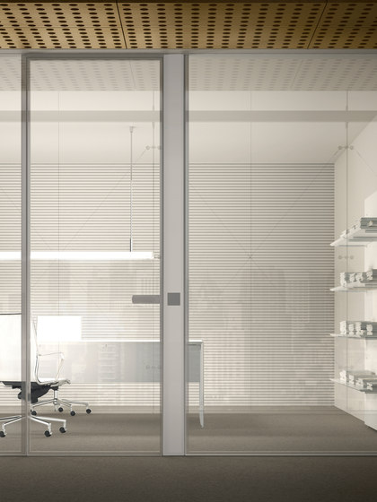 I-Wallflush by Fantoni | Internal doors