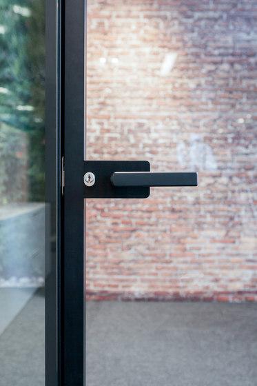 I-Wallflush by Fantoni | Handle sets for glass doors