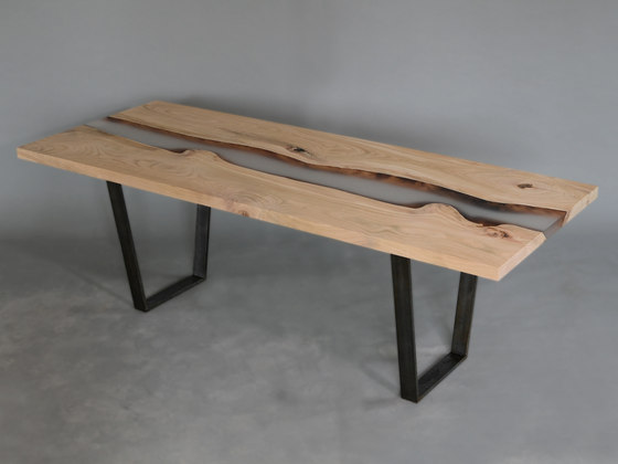 Undergrowth | Creek Table Cherry by Alcarol | Dining tables