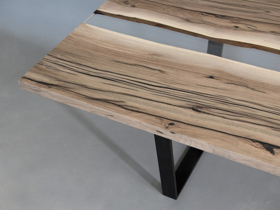 Undergrowth | Creek Table Walnut by Alcarol | Dining tables