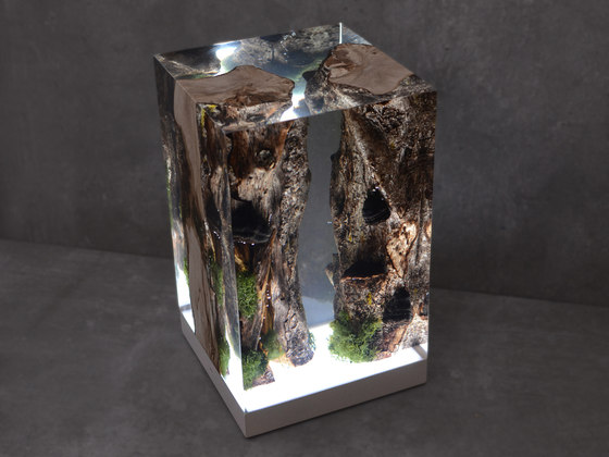 Undergrowth | Moss Lamp by Alcarol | Table lights
