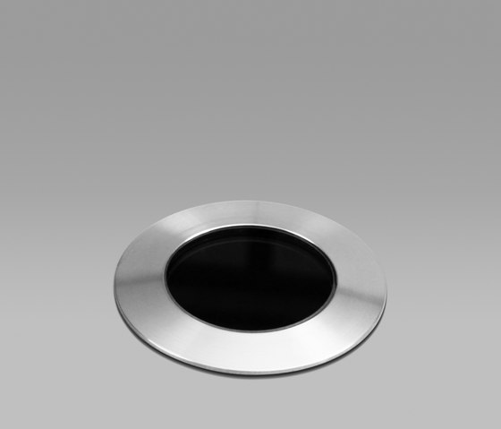 Torino Stainless Steel Medium 2700K by John Cullen Lighting | Recessed floor lights