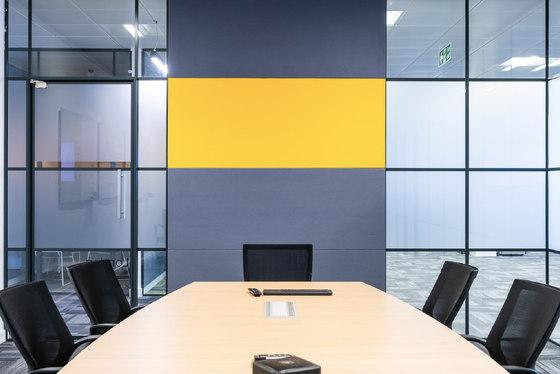 Class Bespoke Wall de Soundtect | Systèmes muraux absorption acoustique