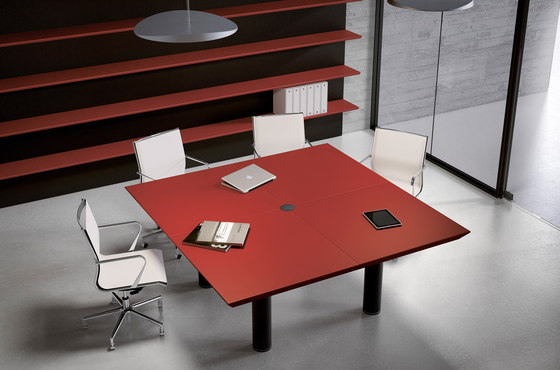 MultipliCeo Meeting by Fantoni | Contract tables