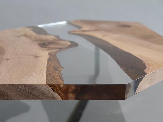 Crystal | Walnut by Alcarol | Side tables