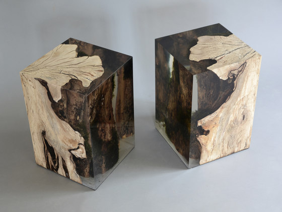 Undergrowth | Stump Stool Hornbeam by Alcarol | Side tables