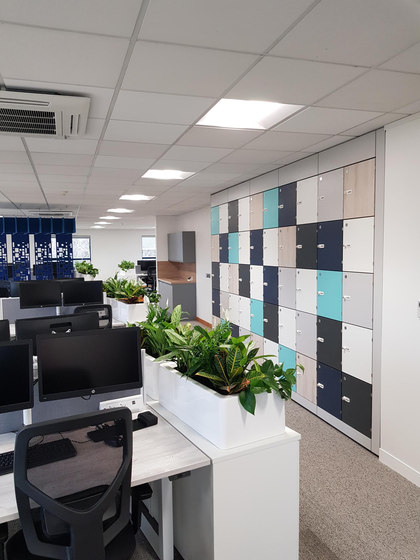 Freestyle - Freestyle Dividers - Acoustic Workplace Dividers - Fins for Office. di Soundtect | Sistemi partizioni