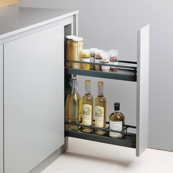 150 mm base unit pull-out by peka-system | Kitchen organization