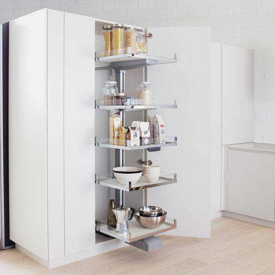 Convoy Lavido Armadio da cucina Hochschrank di peka-system | Organizzazione cucina