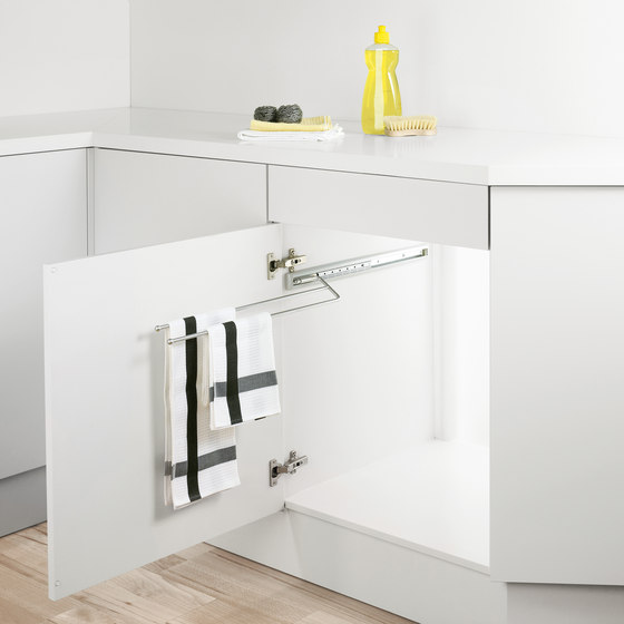 Extending towel rail by peka-system | Towel rails