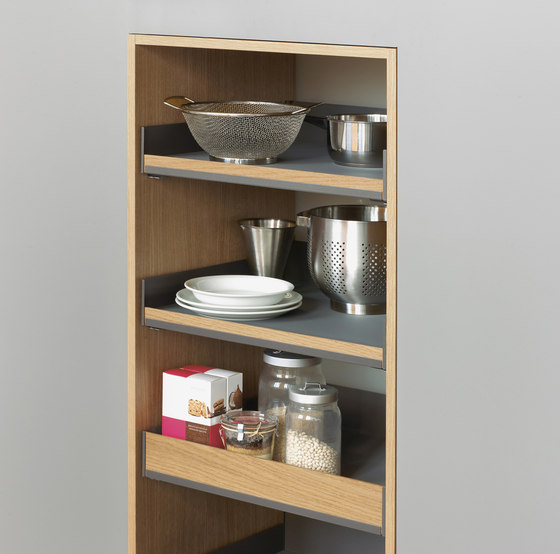 Extendo larder unit by peka-system | Kitchen organization
