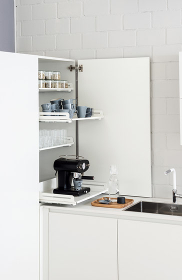 Extendo dresser pull-out by peka-system | Kitchen organization