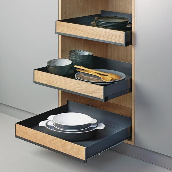 Extendo Estante extraíble de peka-system | Organización cocina