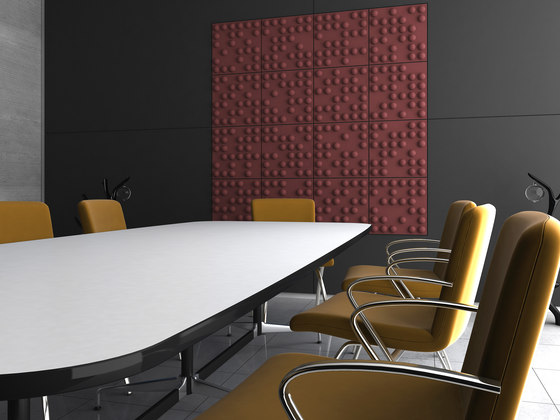 Tetris by Soundtect | Sound absorbing wall systems